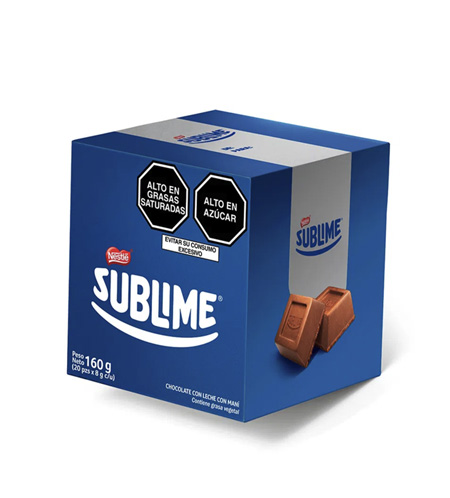 Chocolate Sublime 160g