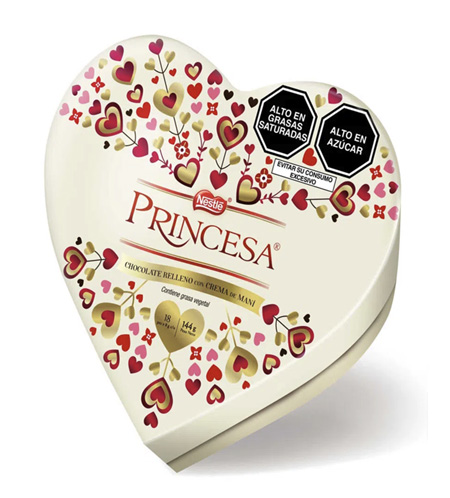 Chocolate Princesa 144gr