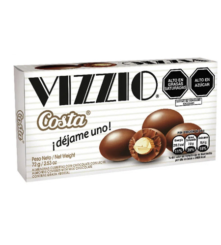 Chocolate Vizio de 72gr