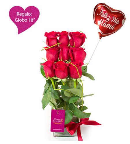 Amor Mío Con Rosas Rojas