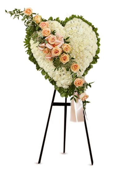 Producto Premiado Corazon Funebre 05 Florerias En